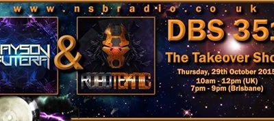 DBS351: Disc Breaks with Jayson Butera & Roboteknic – 29th October 2015