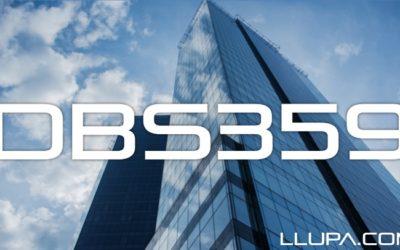 DBS359: DBS with Llupa – 21st January 2016